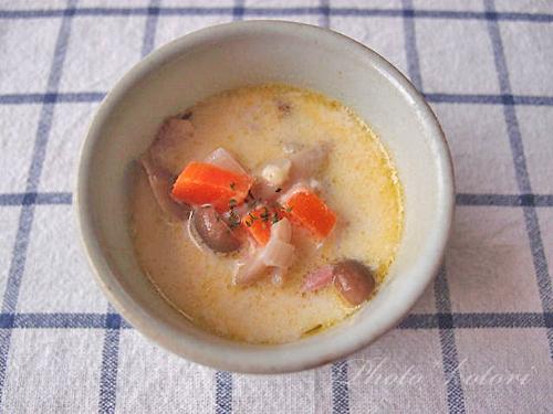 スープジャー弁当 ミルクシチュー