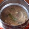 スープジャー弁当 かき玉汁