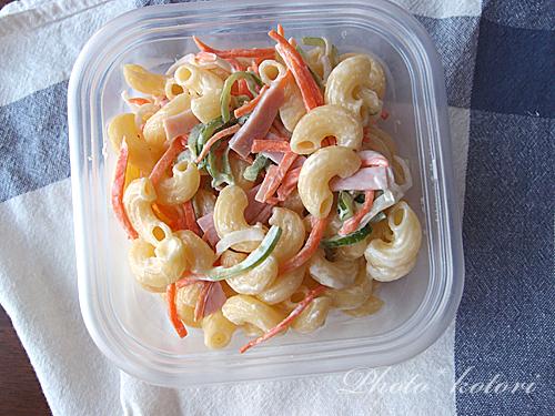飛田和緒さんの常備菜  マカロニサラダの作り方