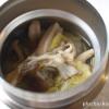 スープジャー弁当 きのこと白菜のスープ 旨味たっぷり食材を使った滋味深いスープ