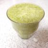 いちじくと小松菜のグリーンスムージー