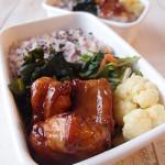 野田琺瑯のお弁当 豚バラ肉のはんぺん巻き弁当