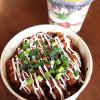 豚肉とピリ辛甘味噌焼き&ジャーサラダ弁当
