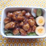 簡単豚肉の角煮風弁当
