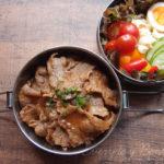 カルビ焼肉&サラダ弁当
