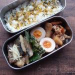 サバの味噌煮弁当
