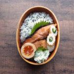 鮭の塩麴漬け弁当
