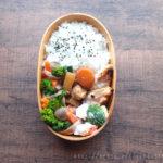 菜の花のベーコン巻き弁当