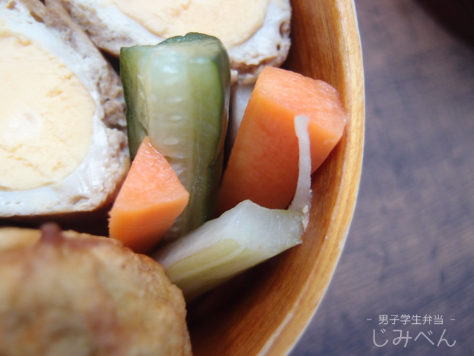 野菜の中華風ピクルス
