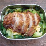 【地味弁】鶏の照り焼き丼弁当