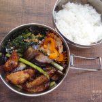 【地味弁】メカジキの生姜焼き弁当
