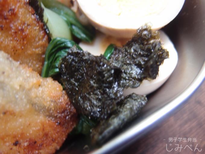 チンゲン菜の海苔和え
