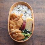 【地味弁】鶏むね肉の生姜焼き弁当
