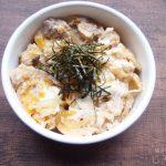 【地味弁】たっきーママさんのレンチンレシピ・親子丼