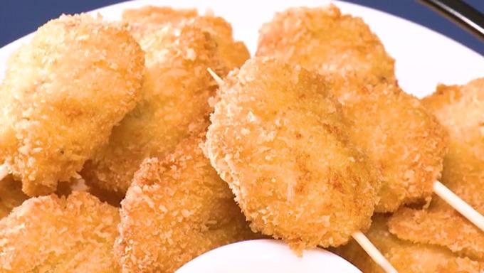 栗原はるみさんのチキンナゲットのレシピ