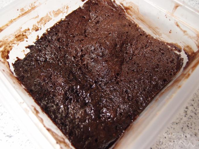 たっきーママのレンジレシピ チョコレートケーキ